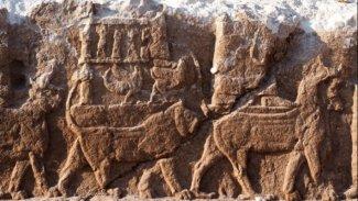 Kürdistan Bölgesi'nde tarihi keşif: 2700 yıllık kabartmalar bulundu