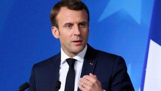 Macron: Türkiye, Libya'ya Suriyeli savaşçı göndermeye son vermeli