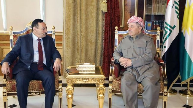 Başkan Barzani Ninova Valisi'yle bir araya geldi