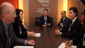 Başkan Neçirvan Barzani'nin Davos temasları