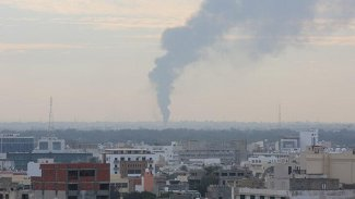 Hafter güçleri Libya'da havalimanını vurdu