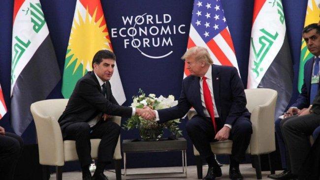 Neçirvan Barzani ile Donald Trump Davos'ta görüştü