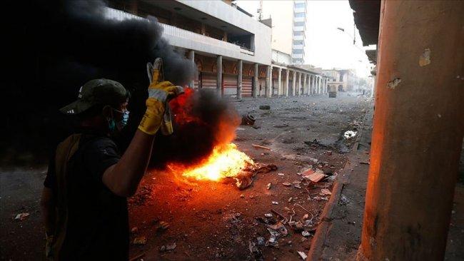 Bedir Tugayları'nın karargahı yakıldı!