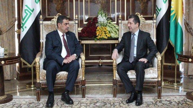 Başbakan Barzani ve Irak Savunma Bakanı'ndan işbirliği vurgusu