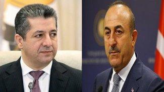 Başbakan'dan Çavuşoğlu'na taziye telefonu