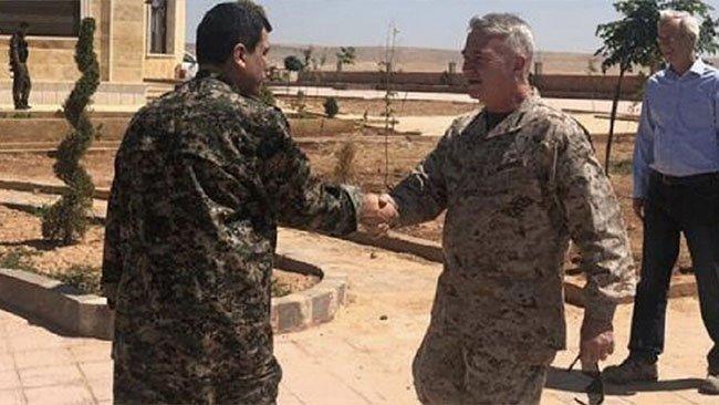 ABD'li komutan Mazlum Kobani'yle yaptığı görüşmesini anlattı