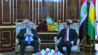 Başbakan Barzani'den Almanya'ya 'Peşmerge' teşekkürü