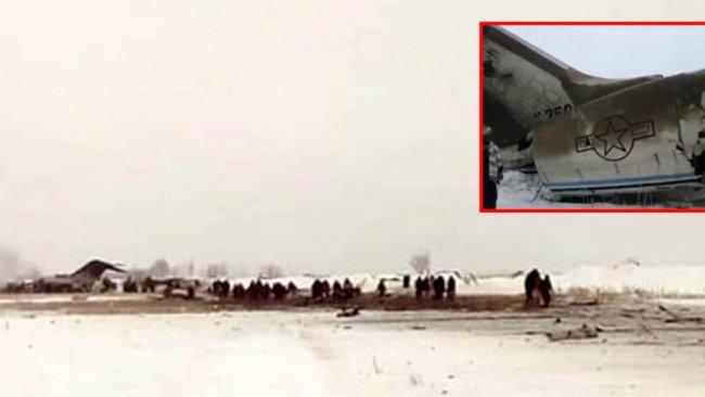 Taliban'ın düşürdüğü uçak sonrası ABD'den ilk açıklama