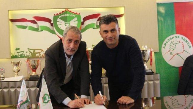 Amedspor'un yeni teknik direktörü belli oldu