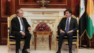 Bogdanov, Putin'in özel selamlarını Barzani'ye iletti