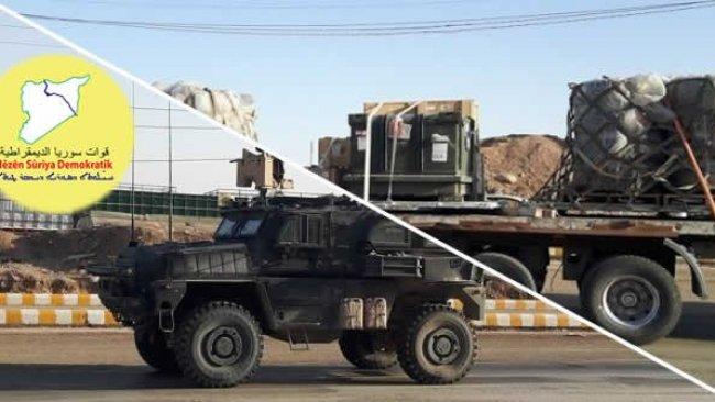 DSG, Menbic'te sınır kapısı açtı