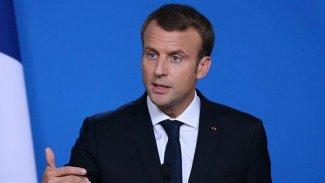 Macron: Erdoğan Suriyeli cihatçıları Libya'ya taşıyor