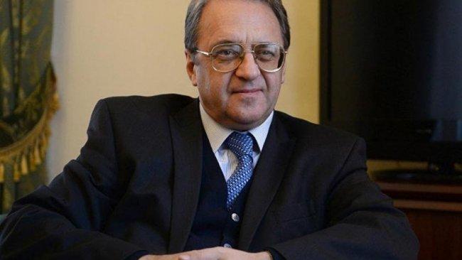 Rusya Dışişleri Bakan Yardımcısı Bogdanov Erbil'de