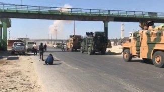 Suriye'de rejim güçlerinden Türk askeri konvoyuna saldırı