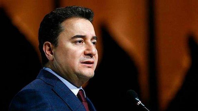 Ali Babacan'dan partinin kuruluşuna ilişkin açıklama