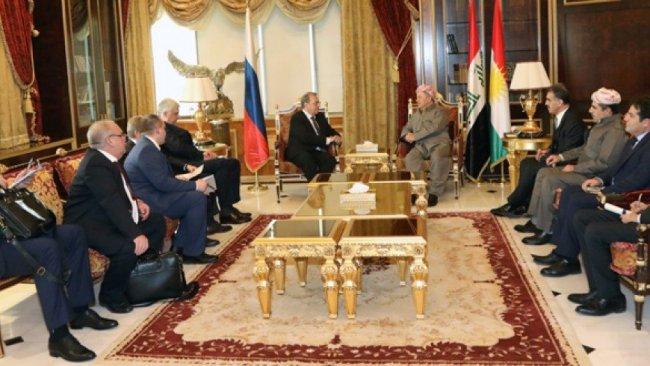 Başkan Barzani, Rojava endişelerini Putin'in temsilcisine iletti