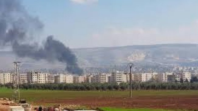 Efrin'e 3 havan topu düştü