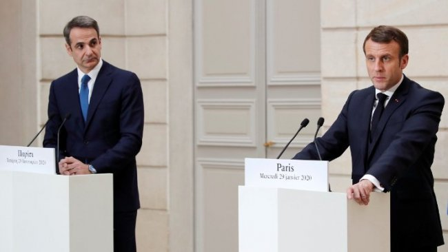 Fransa, Yunanistan'a destek için savaş gemileri gönderiyor