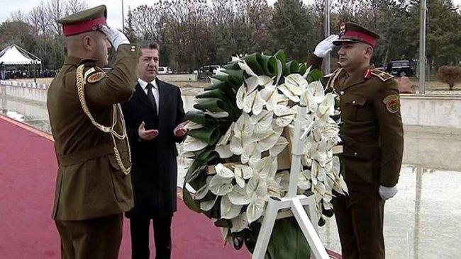 1 Şubat Şehitleri için tören düzenlendi