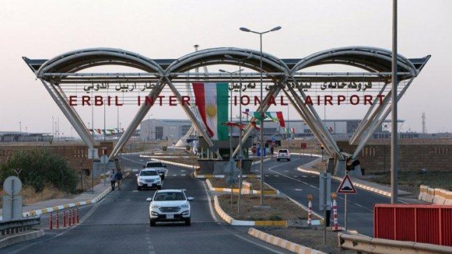 Erbil Uluslararası Havaalanı'nda Koronavirüsü tedbiri