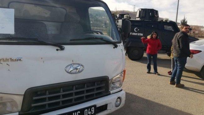 HDP'den 'AFAD'a gönderilen yardımlar yakıldı' iddiası
