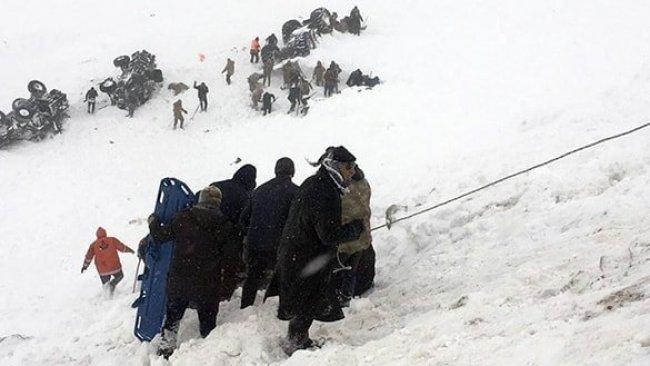 Van'da ikinci çığ faciası: 38 kişi hayatını kaybetti