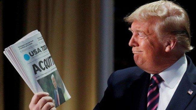 Azil soruşturmasında aklanan Trump'tan ilk açıklama