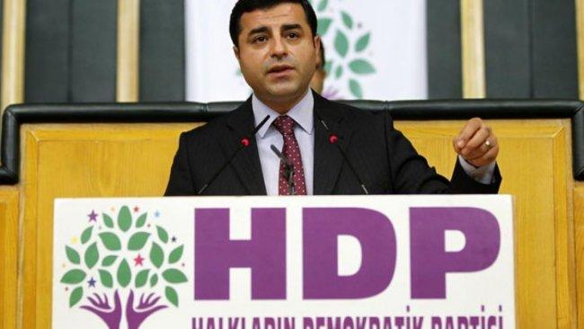 HDP'den 'Selahattin Demirtaş'ın üyeliği düşürüldü' haberlerine ilişkin açıklama