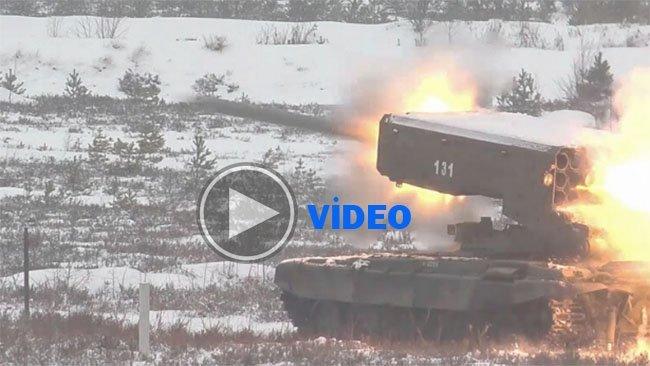 Rusya, 'cehennem silahı'nın görüntülerini yayınladı