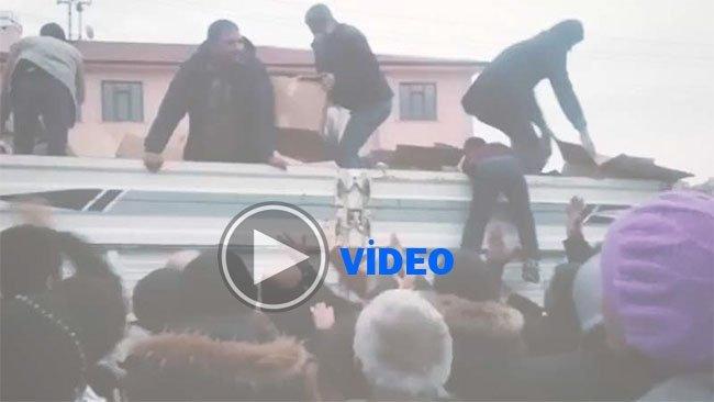 Elazığ'daki 'yardım' görüntüleri tepki topladı