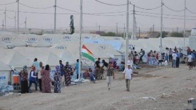 Rojava'dan 1200 kişi Kürdistan Bölgesi'ne göç etti
