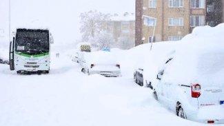 Bitlis'te kar kalınlığı 2 metreyi aştı