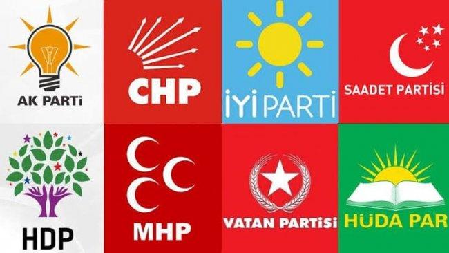 Son rakamlar açıklandı...Hangi partinin kaç üyesi var?