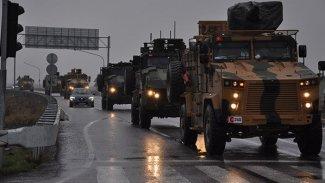 Halep'te TSK konvoyuna hava saldırısı iddiası