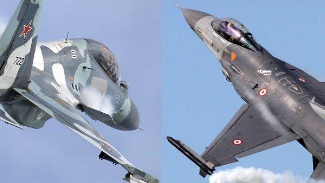 'Rus Su-35 jetleri Türk F-16'larına karşı havalandı'
