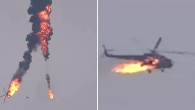 Türkiye'den düşürülen helikopterle ilgili açıklama