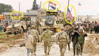ABD, Rusya ve Suriye rejimi aynı karede: Kamışlo'daki kontrol noktasında dün ne yaşandı?