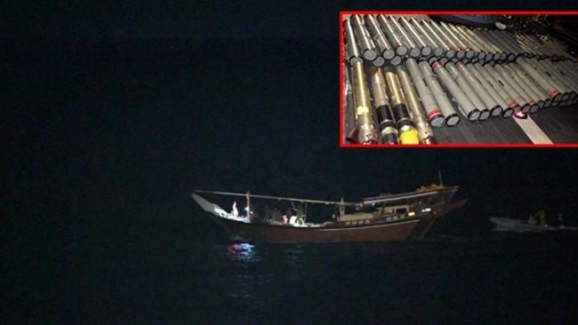 ABD, Umman Denizi'nde ağır silah dolu İran teknesine el koydu
