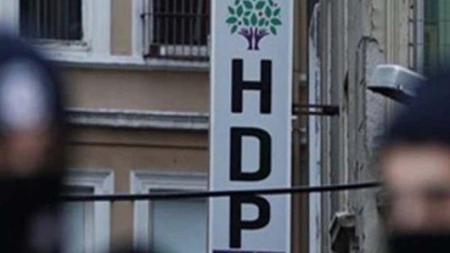 Diyarbakır ve Dersim'de HDP'ye yönelik operasyon