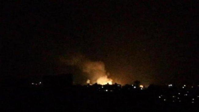 İsrail, Şam yakınlarındaki silah depolarını hedef aldı