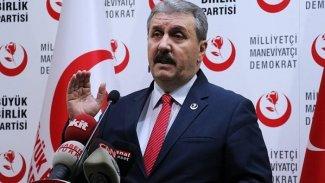 Mustafa Destici: Irak bölünecekse Türkmenlerin bölgesi olmalı