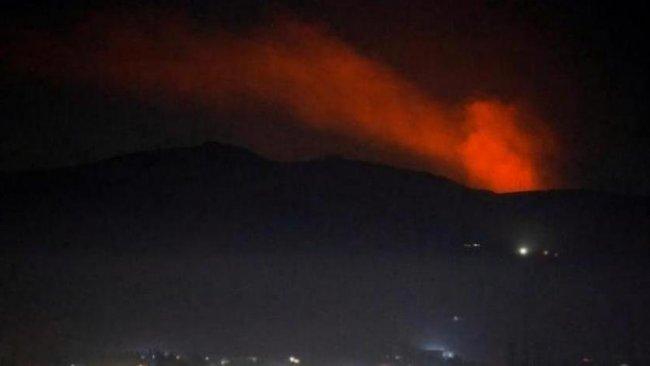 Şam'a füze saldırısı...Hava savunma sistemleri aktifleştirildi!