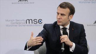 Macron: İdlib'de yaşananlar kabul edilemez