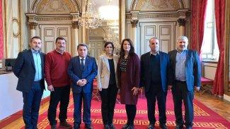 MSD ve Özerk Yönetim İsveçli yetkilerle bir araya geldi
