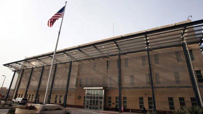 ABD büyükelçiliği yakınlarına füze düştü