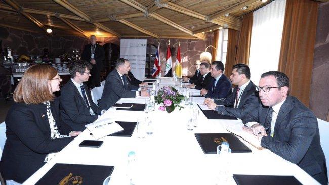 Başbakan Mesrur Barzani'nin yoğun diplomasi trafiği devam ediyor