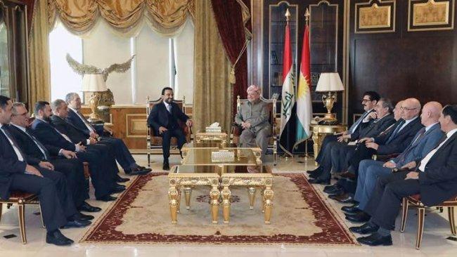 Başkan Barzani ve Muhammed Halbusi görüştü: 6 madde üzerinde anlaşma sağlandı