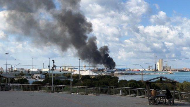 Hafter güçleri: Türkiye'nin gemisini vurduk