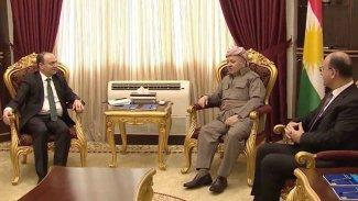 Başkan Barzani Osman Baydemir ile bir araya geldi