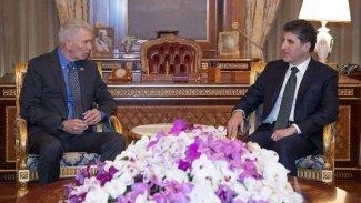 Başkan Neçirvan Barzani, ABD heyetiyle görüştü